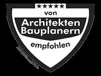 von Architekten empfohlen